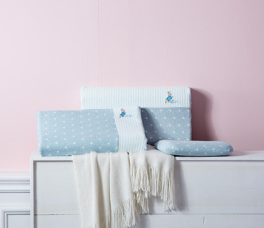 比得儿童乳胶小方枕/比得儿童乳胶枕/比得学生乳胶枕