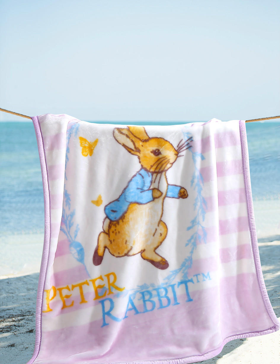 比得兔儿童云毯