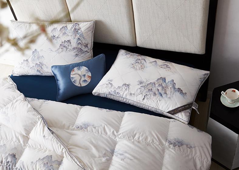 御览江山鹅暖枕