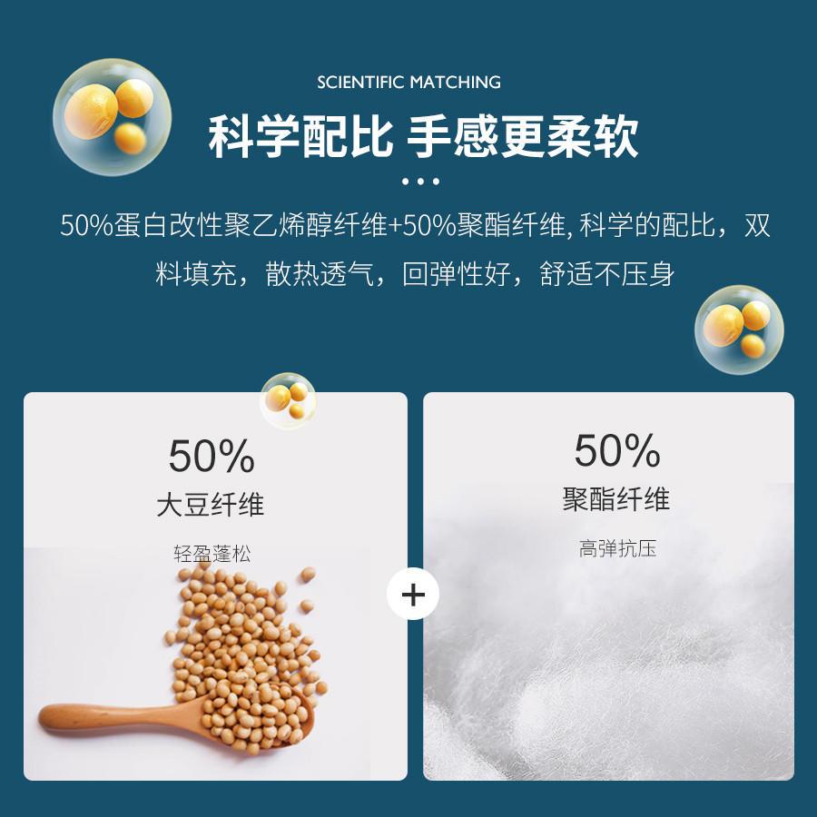 自然本色大豆抗菌冬被